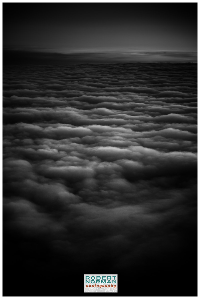clouds-from-airplane-photo-B&W-black-and-white