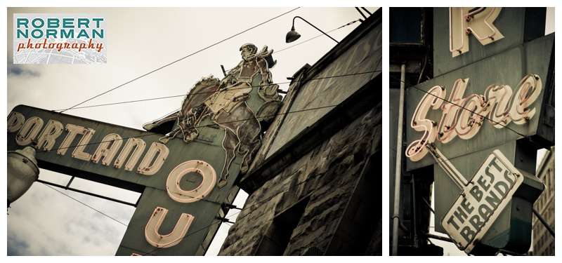 portland-oregon-photos-downtown-vintage-signage-Portland-outdoor-store-cowboy
