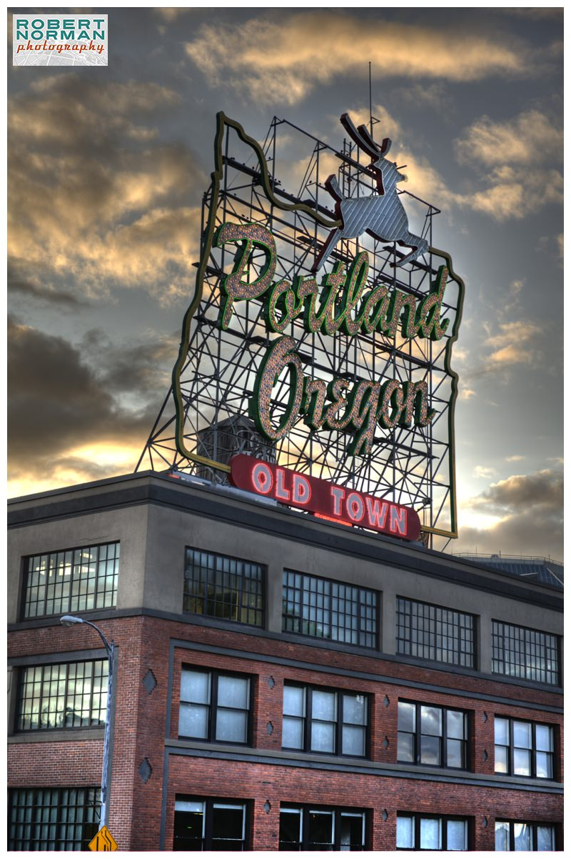 portland-oregon-downtown-photos-old-town-sign-deer