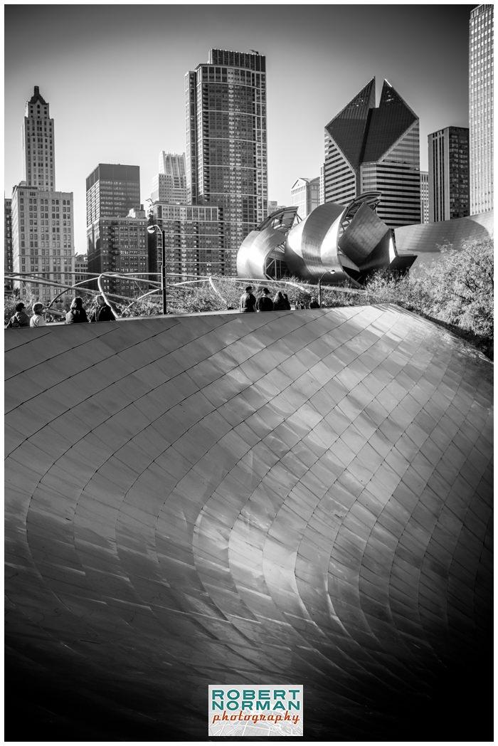 Millennium-Park-chicago-cloud-gate-Jay-Pritzker-Pavilion