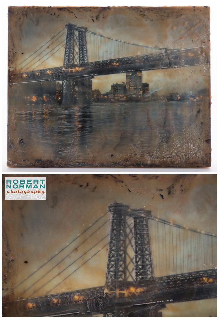 encaustic-fine-art-Williamsburg-Bridge-NY-new-york