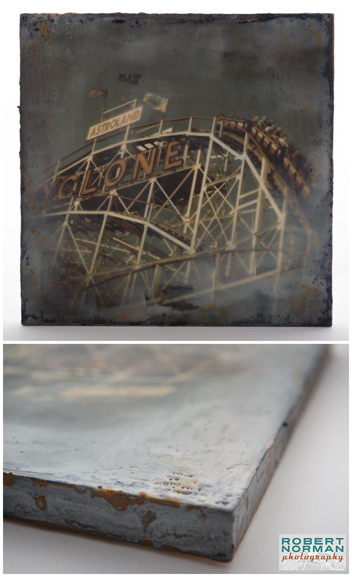 encaustic-fine-art-cyclone-coaster-coney-island