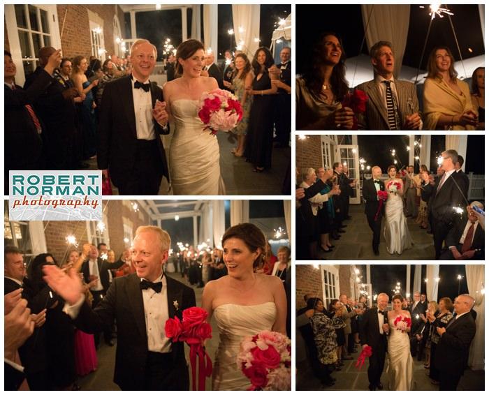 highlands-country-club-garrison-NY-wedding-sparkler-send-off